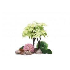 Комплект декора к аквариуму на 30 л, лето - 55029