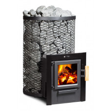Дровяная печь для сауны FinTec Kjeld MH с выносной топкой - 800.920.021