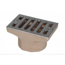 Трап для переливного лотка 100 х 60 мм, G2 IG из А4, Hugo Lahme - 2200020