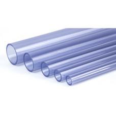Труба PVC прозрачная клеевая  - TPT110_4