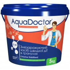 Дезинфектант на основе хлора быстрого действия AquaDoctor C-60 - 1550-1551-15540