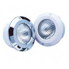 Светильник галогенный STANDARD с оправой ABS-пластик белый, с кабелем, 300W (под бетон)