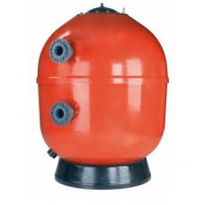 Фильтр ламинированный VESUBIO без вентиля (боковой тип подключения, выход 110 мм.) D2000 мм., 62 м3/ч, 20 м3/ч/м2, 2,5 бар