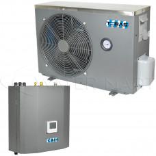 Инверторный тепловой насос воздух-вода Tebas Split-20 - 5,12 кВт
