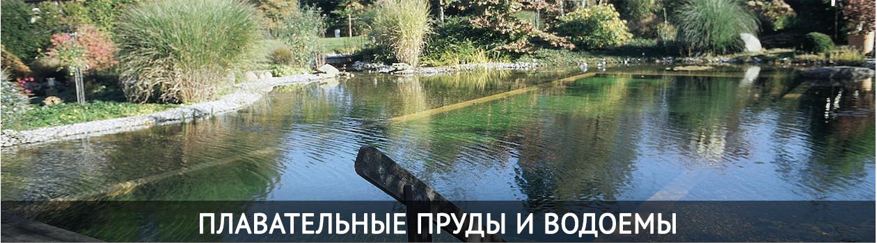 Плавательные пруды и водоемы