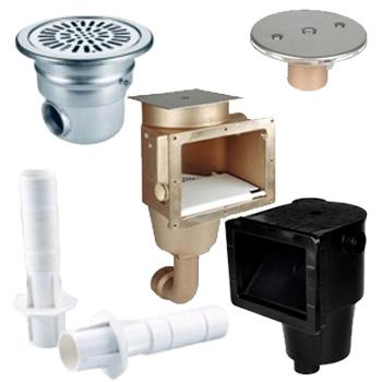 Оборудование для подачи, забора и слива воды