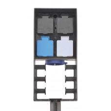Блок розеток с радиоуправлением InScenio FМ-Master 3 - 56859/36311