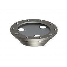 Светильник в корпусе из нержавеющей стали WaterLux S3 (свет теплый белый, 4,5Вт, 360лм, IP68, 24В, DMX-RDM, линза 10' - 60')