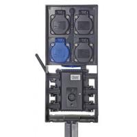 Влагозащищенный блок розеток с Wi-Fi/BT управлением FM-Master WLAN EGC Cloud
