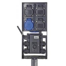 Влагозащищенный блок розеток с Wi-Fi/BT управлением FM-Master WLAN EGC Cloud  - 70788