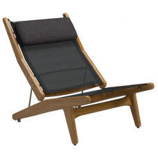 Кресло Reclining Chair Buffed Teak