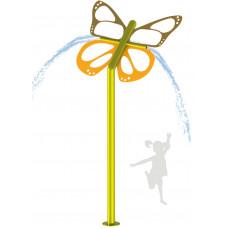 Бабочка на 2 форсунки