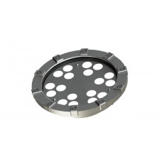 Светильник в корпусе из нержавеющей стали WaterLux L12 (свет RGBW, 64Вт, 3490лм, IP68, 24В, DMX-RDM, линза 10' - 60')