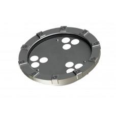 Светильник в корпусе из нержавеющей стали WaterLux L6 (свет RGBW, 32Вт, 1745лм, IP68, 24В, DMX-RDM, линза 10' - 60')