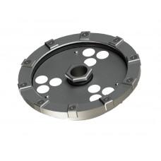 Светильник в корпусе из нержавеющей стали WaterSysLight L6С с отверстием под форсунку (свет RGBW, 32Вт, 1745лм, IP68, 24В, DMX-RDM, линза 10' - 60')
