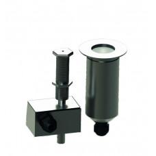 WaterDrop - быстрореагируемая Фонтанная форсунка работающая без насоса, DMX-RDM, 6 Вт RGBW, разъем IP68  - WaterDrop