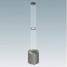 WaterTube M —Фонтанный комплект, с управлением DMX-RDM, акриловый тубус 2 м - WaterTube M
