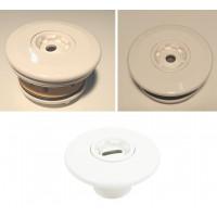 """Впускное сопло WHITE EDITION EURONORМ, PVC, резьба 2"""" GZ(наружное соединение), согласно EN-13451-1 и EN-13451-3, для бассейна из пленки"""