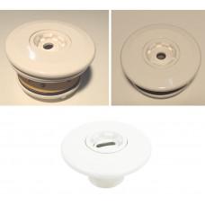 Впускное сопло WHITE EDITION, PVC EURO, тип Astral, для бассейна из плитки - WHITE EDITION, PVC EURO