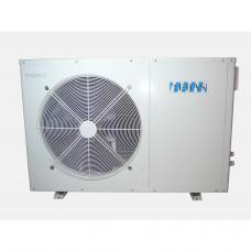 Тепловой насос TEBAS, в корпусе из нержавеющей стали, для бассейна 30-50 m3; 6,5-9,0 kW, 230V - 14605