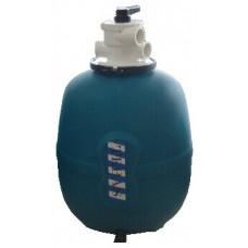 """Фильтровальная емкость JUPITER 560 мм c 6-ти ходовым клапаном/верхнее подключение, резьба 1 1/2""""   - 081010"""